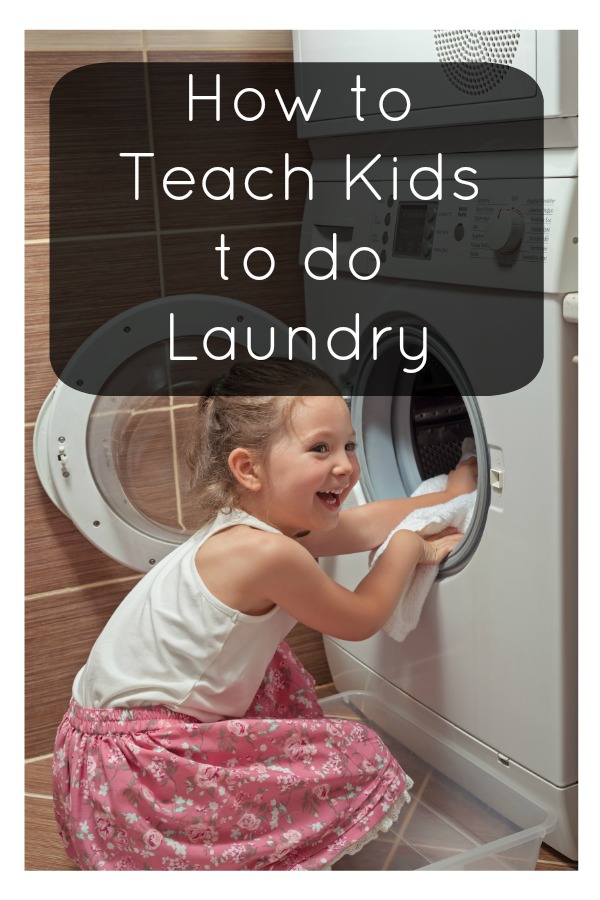 Teaching Kids to Do Laundry