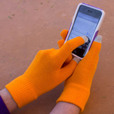 Texting Gloves Thermo Wear Insulated Touch Finger Gloves for $2.99 (Great Teen Gift Idea)