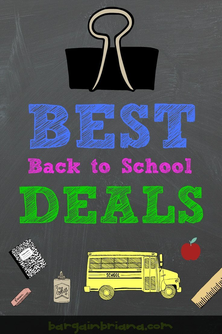 The Best Back to School Deals via BargainBriana