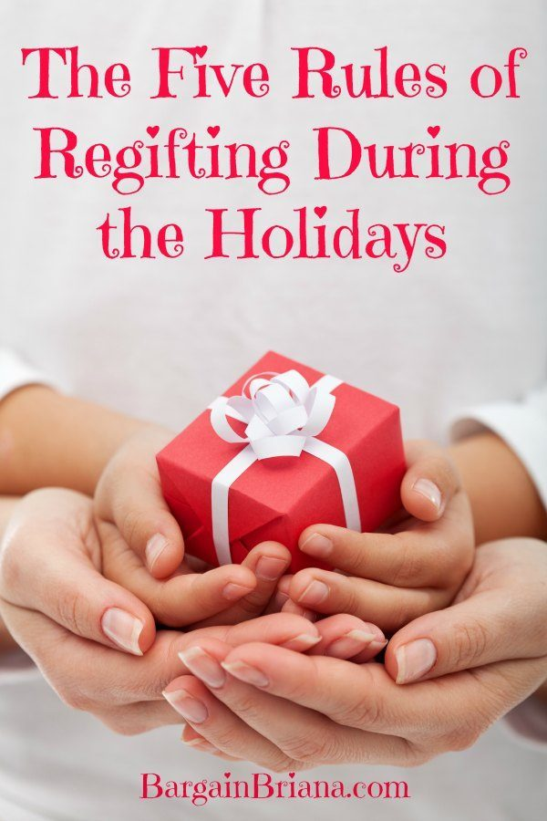 The Five Rules of Regifting During the Holidays
