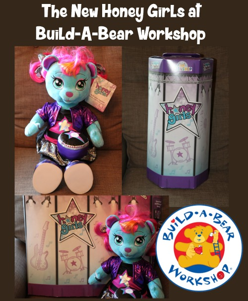 The New Honey Girls at Build A Bear Workshop