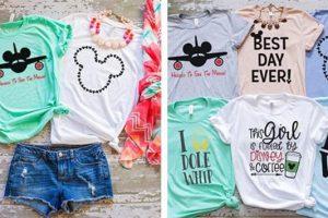 Theme Park Vacation Shirts – $13.99