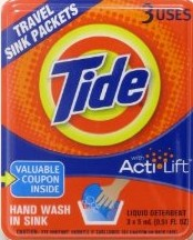 Amazon Subscribe & Save: Tide Travel Sink Packets (3pk) $2.65
