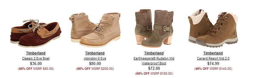 Timberland Sale Timberland   up to 60% off
