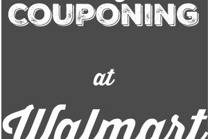 Tips For Couponing At Walmart