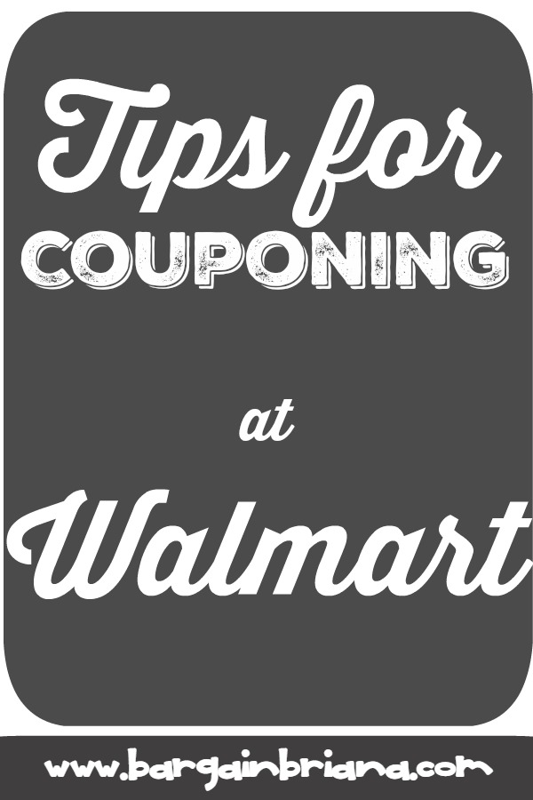 Tips for Couponing at Walmart - learn to coupon 101