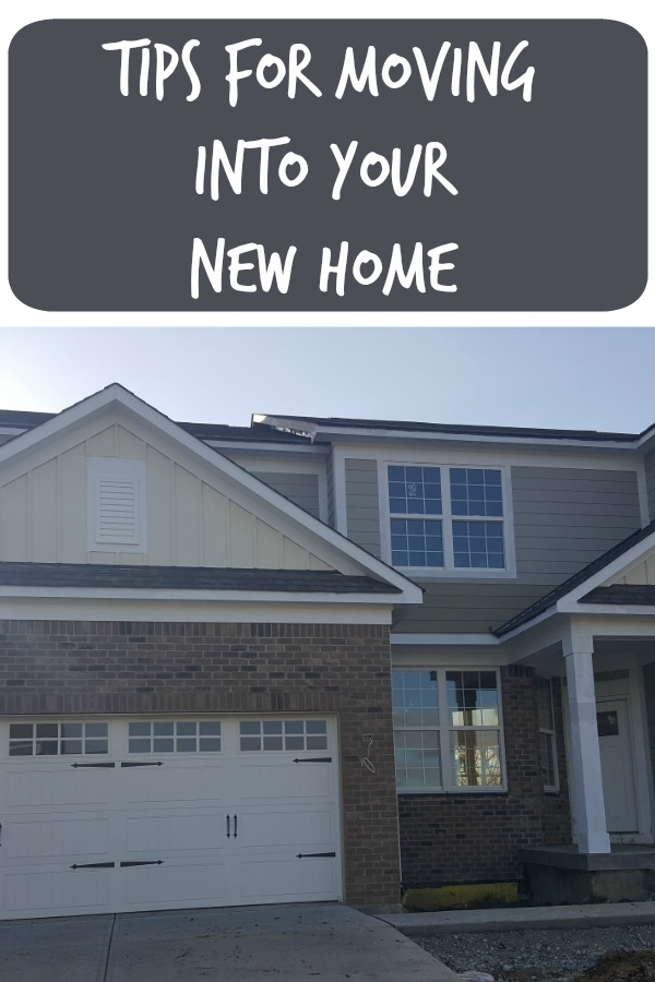 Tips for Moving into Your New Home - New Movers