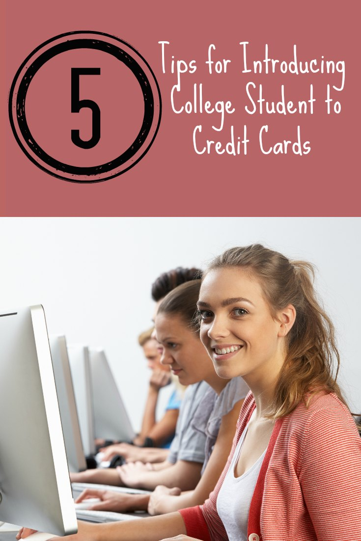 Tips to Introduce College Student to Credit Cards
