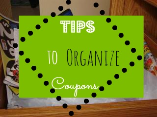 Tips to Organize Coupons Easily