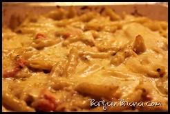 Tofu Tomato Basil Pasta