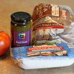 Tomato Basil Pesto Panini Ingredients