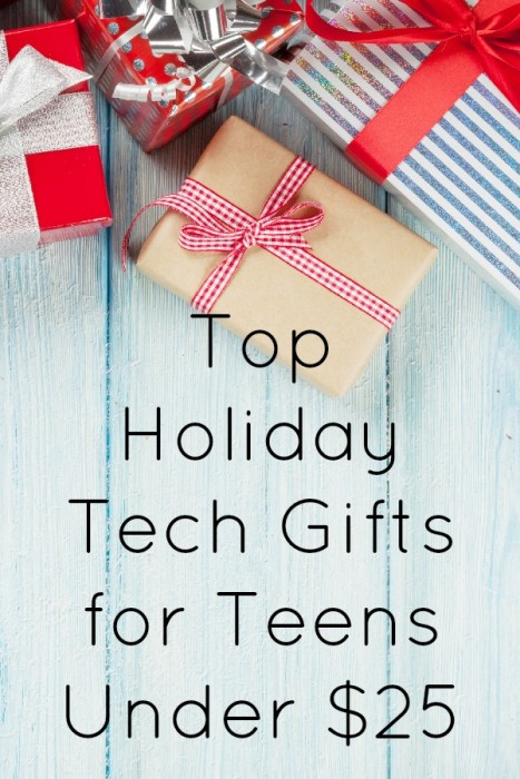 Top Holiday Tech Gifts for Teens Under $25 - BargainBriana