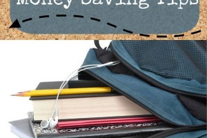 Top Money Saving Tips for Back to School