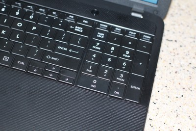Toshiba Satellite Number Keyboard