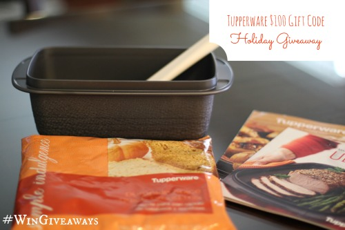 Tupperware $100 Gift Code Holiday Giveaway