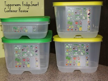 Tupperware FridgeSmart Containers Review via BargainBriana.com