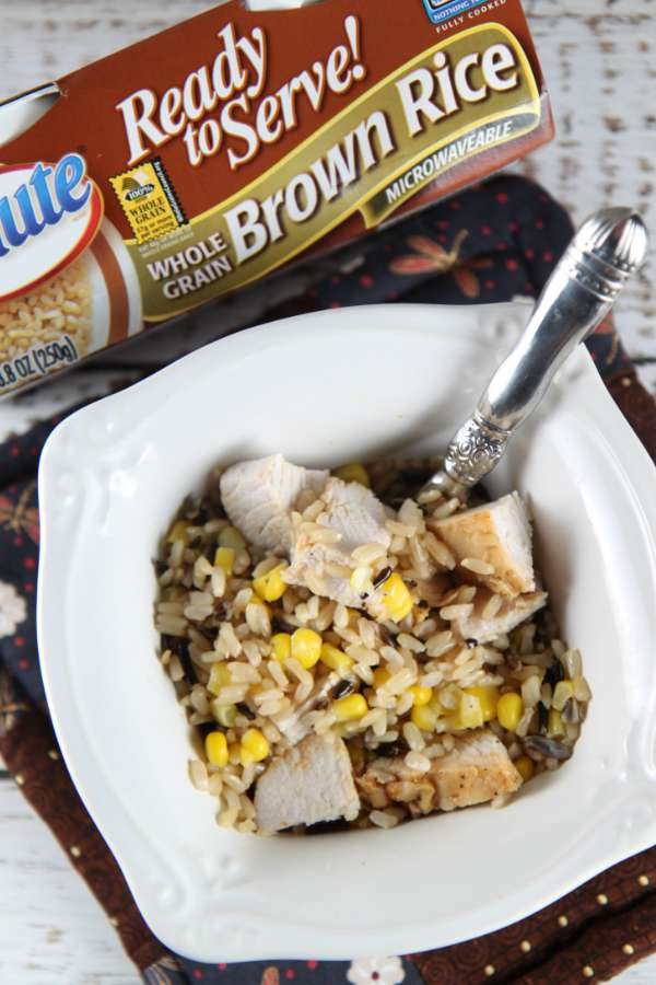 Turkey Bowl with Rice