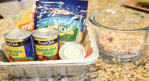 Turkey Enchilada Ingredients