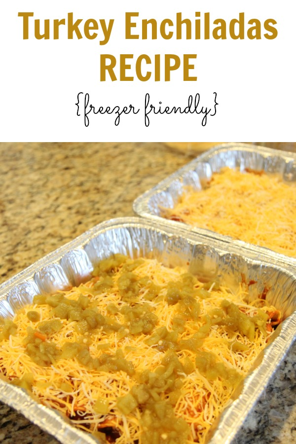 Turkey Enchiladas Recipe - Freezer Friendly