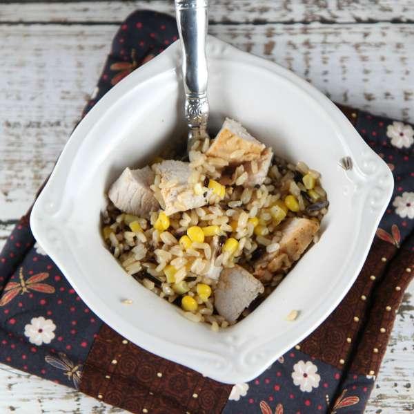 Turkey Rice Bowl