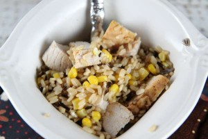 Turkey Rice Bowl (Perfect for Leftovers!)