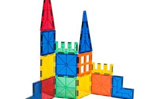 Tytan Magnetic Learning Tiles Building Set 58% off at Staples