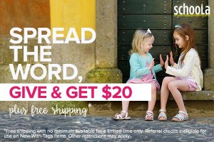 $20 of Free Clothing + Free Shipping!