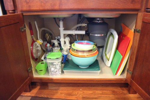 Under the Kitchen Sink Cabinet