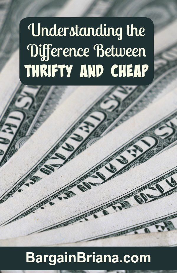 Understanding the Difference Between Thrifty and Cheap
