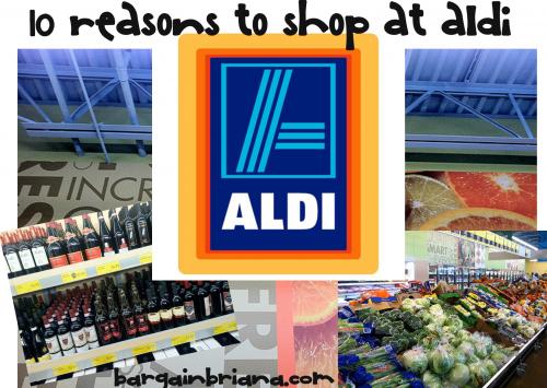 10 Reason I Love to Shop at ALDI