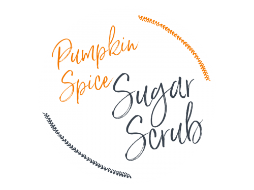 Pumpkin Spice Latte Sugar Scrub Printable Label