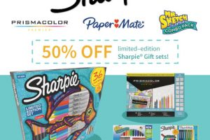 50% off limited-edition Sharpie Gift Sets at Target (11/23 – 11/25)