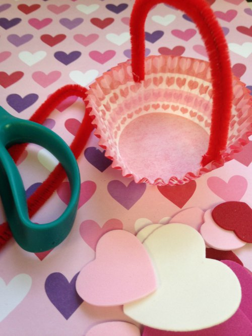 Valentine Day Treat Basket