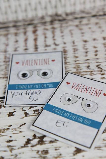 Valentine I Have My Eyes On You