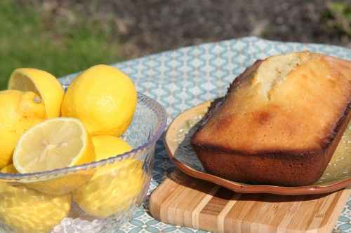 Vanilla Pound Cake with Lemon Glaze Recipe