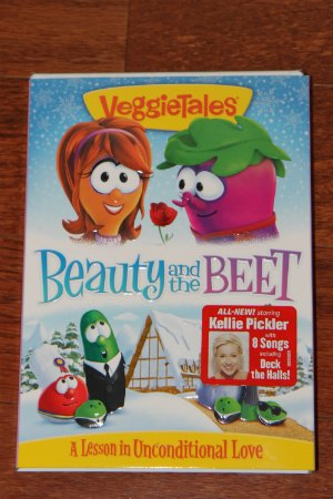 VeggieTales Beauty and the Beet DVD Holiday Gift Guide