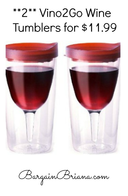 Vino2Go Wine Tumbler Deal
