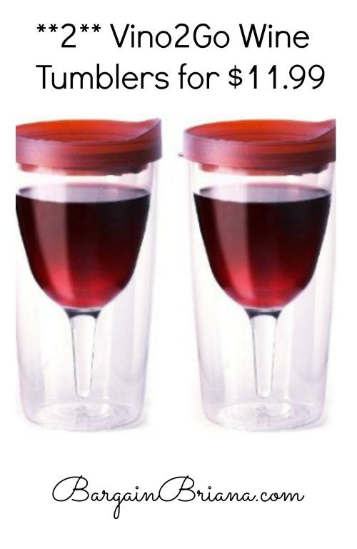 Vino2Go Wine Tumbler Deal
