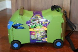 Vrum Teenage Mutant Ninja Turtles Childs Ride On Toy Box Holiday Git Guide