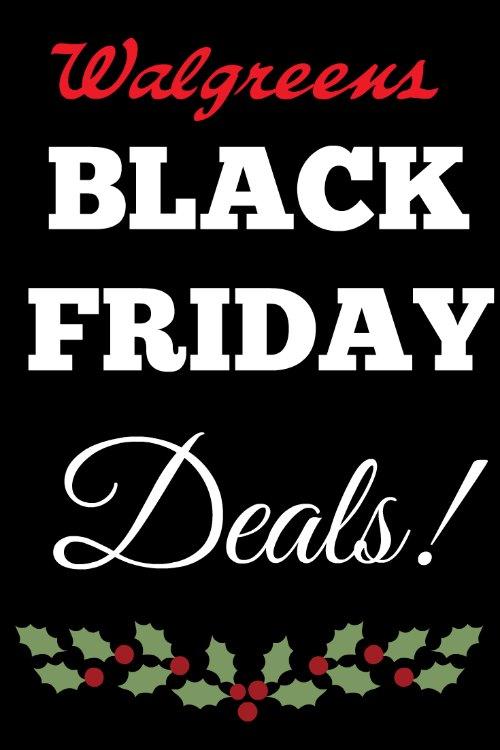Walgreens Black Friday Deals