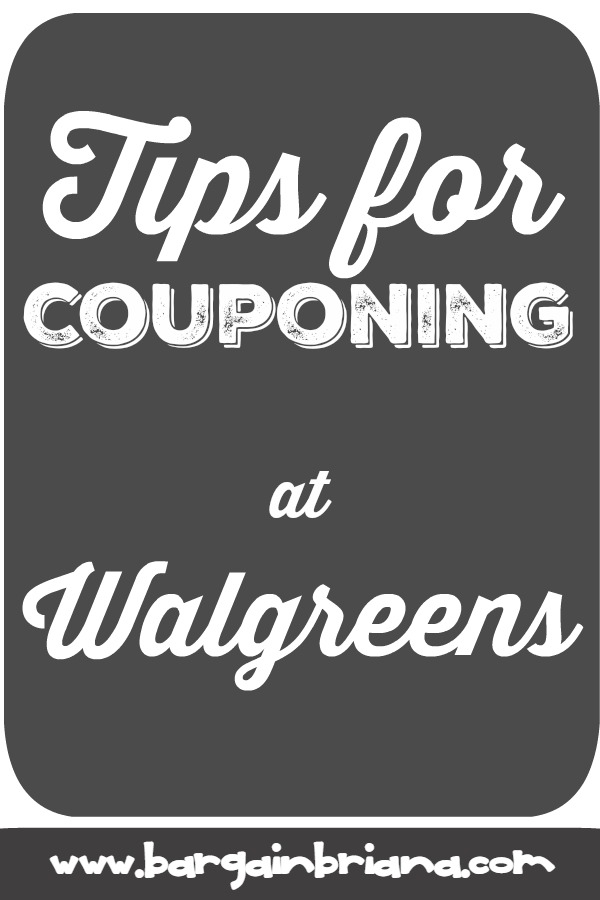 Walgreens Couponing Tips - Learn to Coupon 101