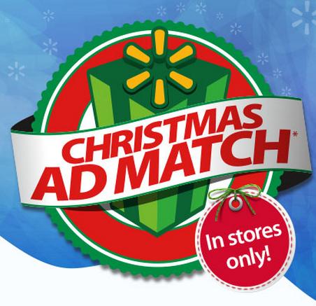 Walmart Christmas Ad Match