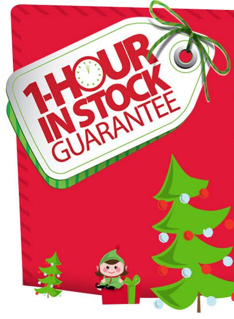 Walmart One Hour In Stock Guarantee