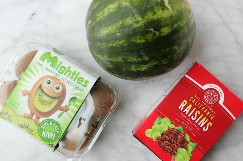 Watermelon Kiwi Pops Ingredients
