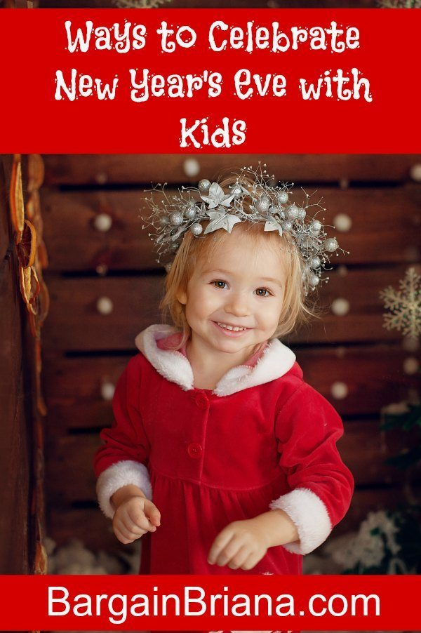 Ways to Celebrate New Year's Eve with Kids