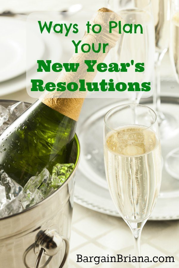 Ways to Plan Your New Year's Resolutions