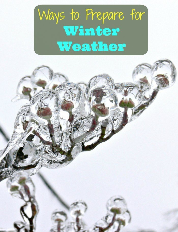 Ways to Prepare for Winter Weather