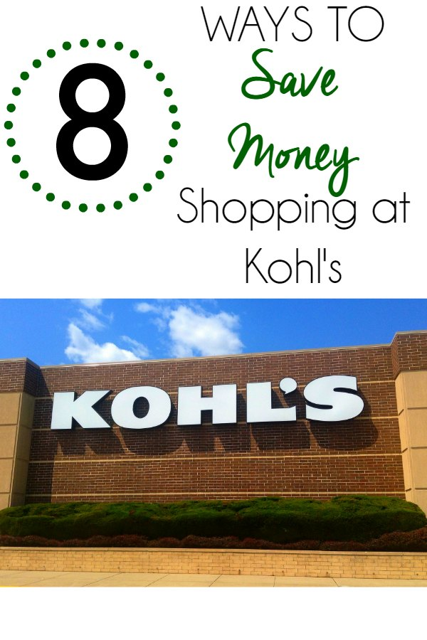 Ways to Save Money Shopping at Kohls