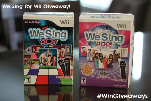 We Sing for Wii Giveaway #WinGiveaways