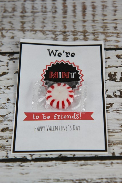 We are mint to be together valentine  20 Handmade Valentines Day Card Ideas